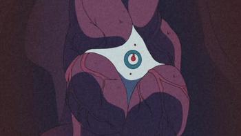 A técnica representada no anime.