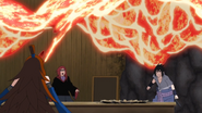 Elemento Lava Jutsu Aparición de Fusión Versión normal Anime