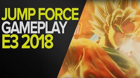 JUMP FORCE - GAMEPLAY E3 2018 - XBOX ONE - OFF SCREEN-0