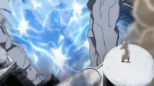 …Zō eletrocuta o oponente…