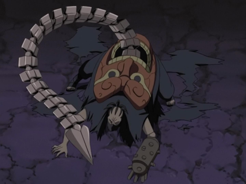 Hiruko contre les deux femmes ninjas