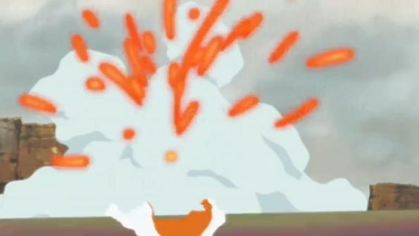 Ráfaga de Fuego de Kurama