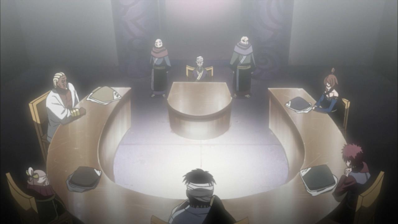 Reunião dos Cinco Kage (Arco)