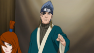 Ao ordena que Danzō permaneça na sala