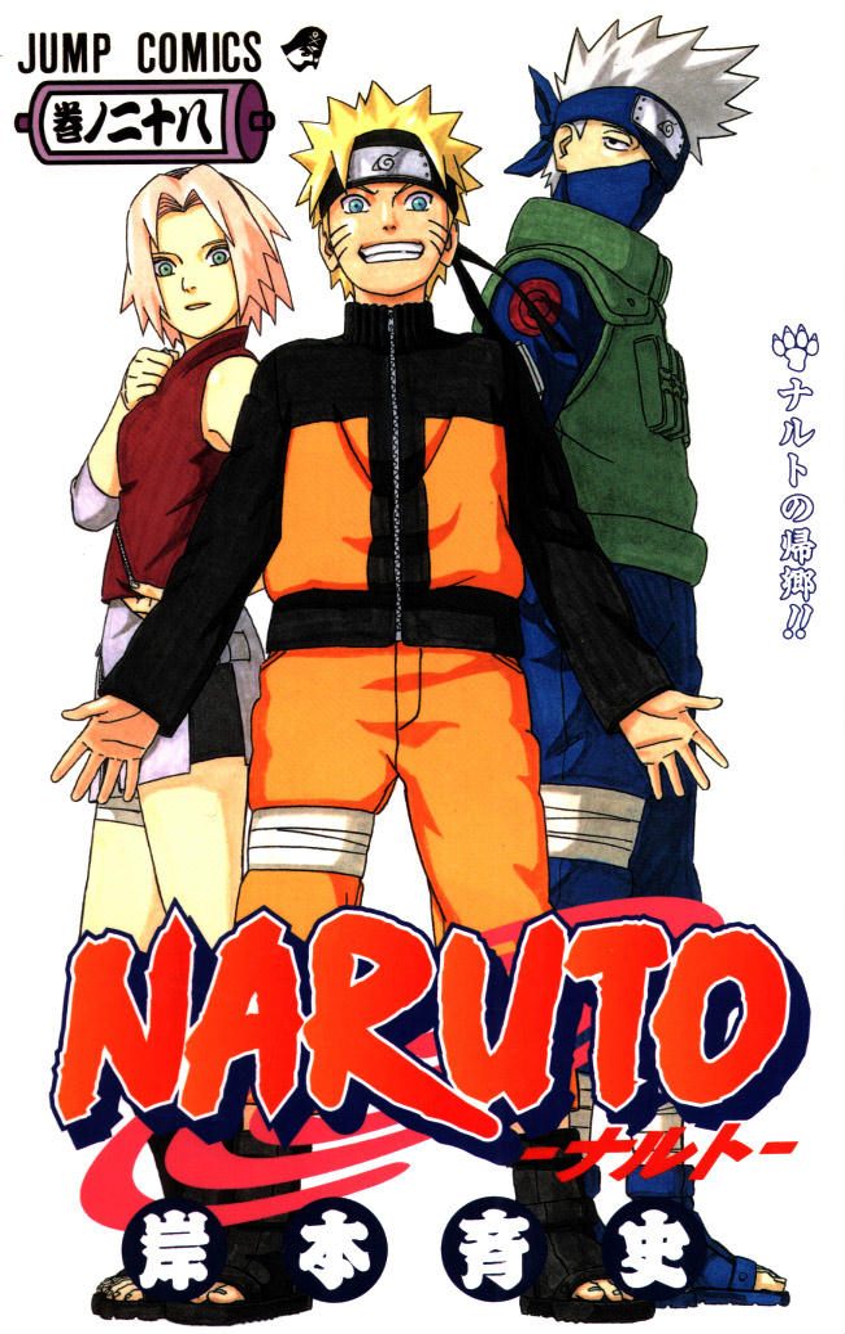 Volume 28: O Regresso de Naruto!!