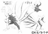 Arte Pierrot - Killer B Versão 2