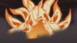Mode Bijû Incomplète de Naruto