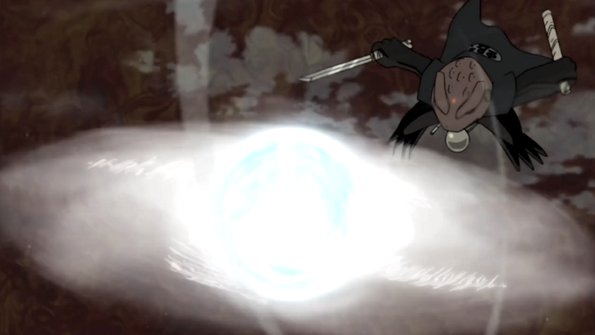 Elemento Viento: Super Gran Bola Rasen Shuriken