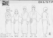 Arte Pierrot - Time Kakashi Kimono