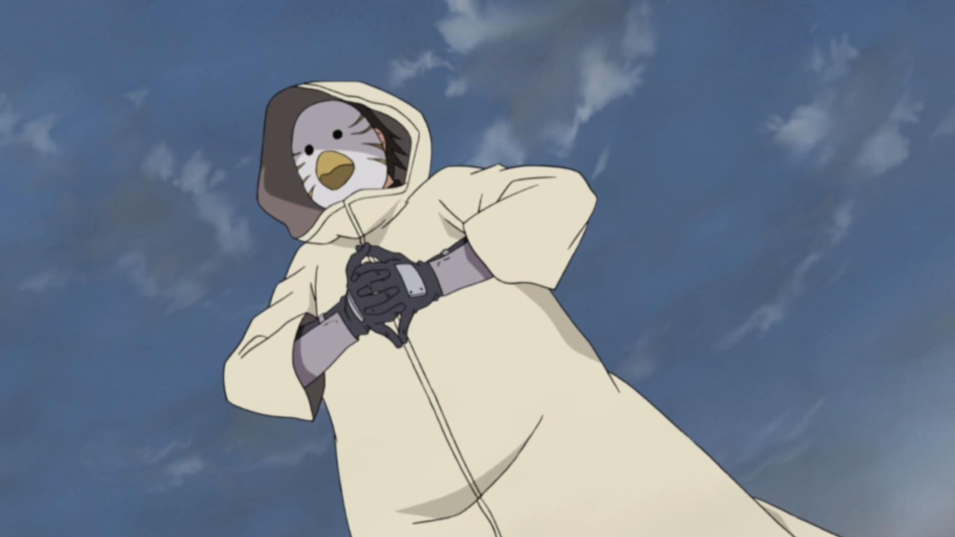 Membro Anbu Mascarado de Pássaro