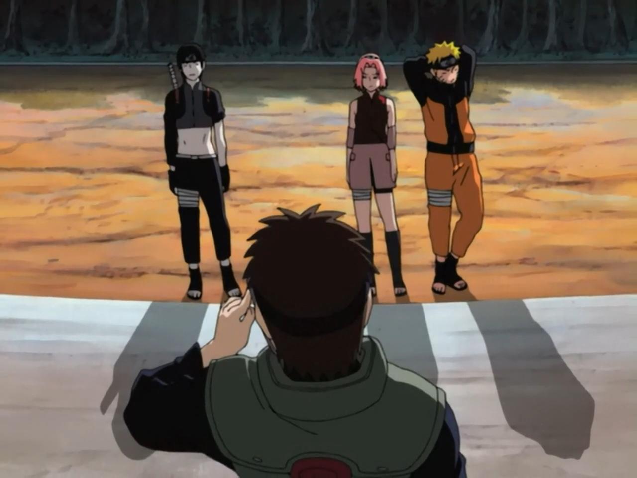 Naruto Shippūden - Episódio 35: Uma Adição Indesejada