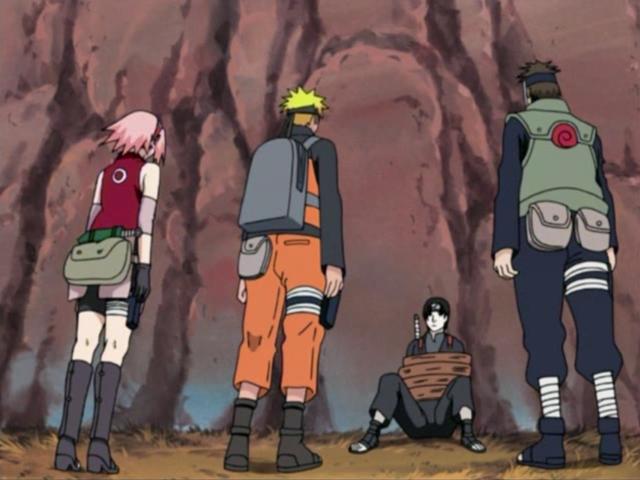 Naruto Shippūden - Episódio 48: Laços