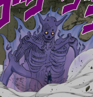 Susanoo Incompleto Colorido (Sasuke)