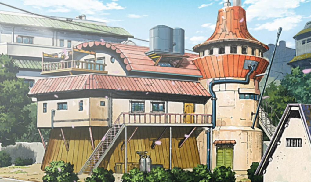 Casa de Minato y Kushina