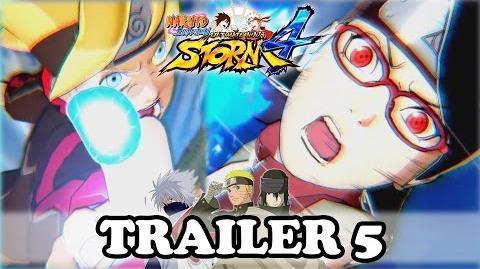 NARUTO STORM 4 TRAILER 5 Boruto x Sarada x The Last Naruto the Movie Gameplay OFFICIAL
