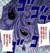 Susanoo completo de Sasuke manga