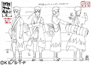 Arte Pierrot - Naruto Sennin