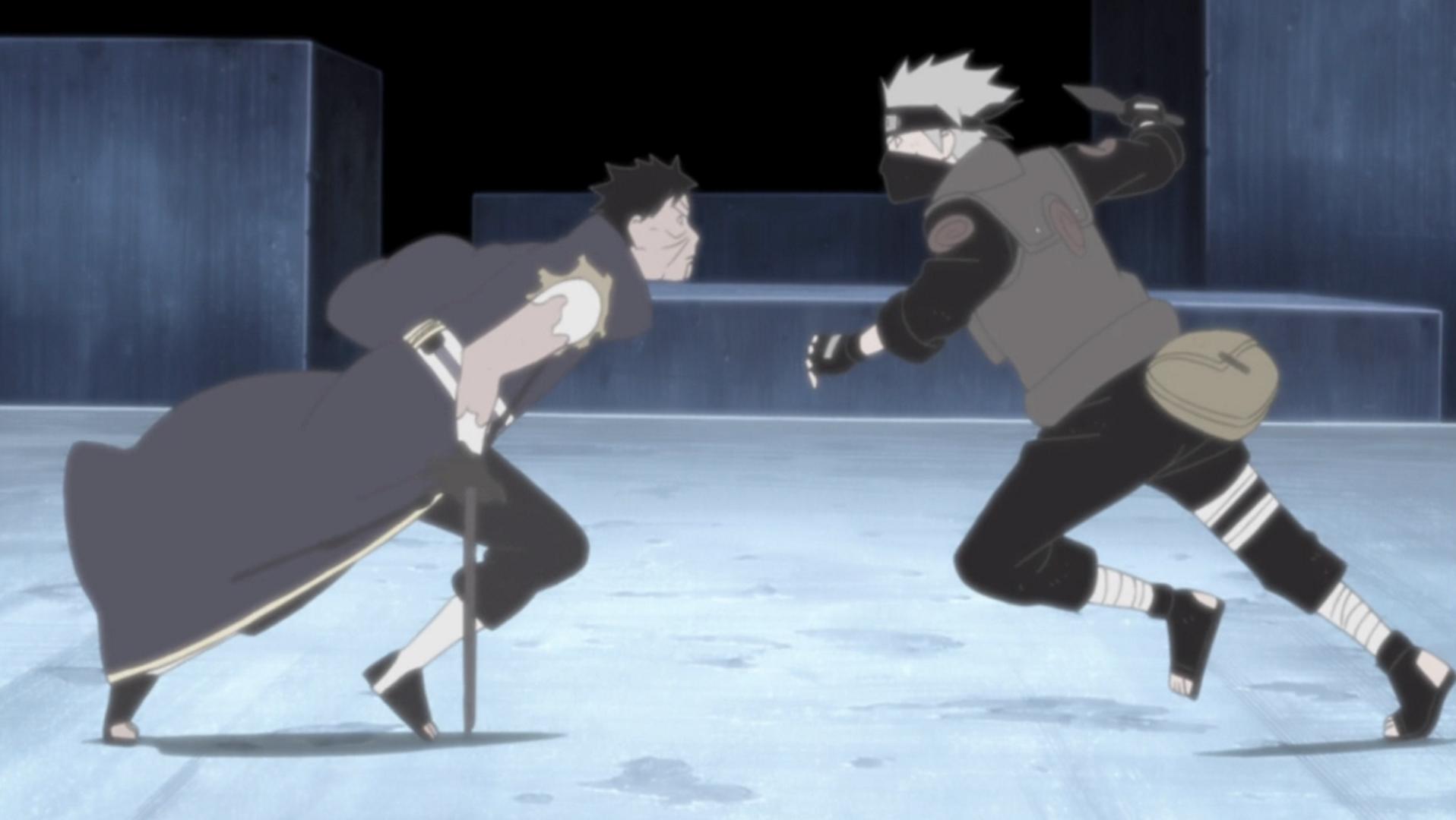 Kakashi vs Obito