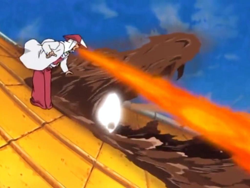 Elemento Fuego: Bala Dragón de Fuego