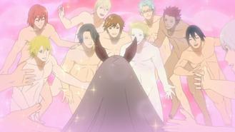 Sexy Jutsu Harem Inverso Anime