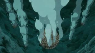 Снаряд под водой