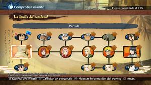 Naruto Storm 4 modo aventura Huella de vendaval Historia completa.png