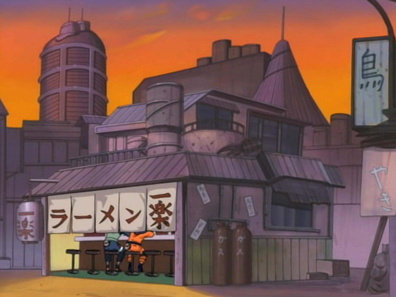 Chiosco di ramen di Ichiraku