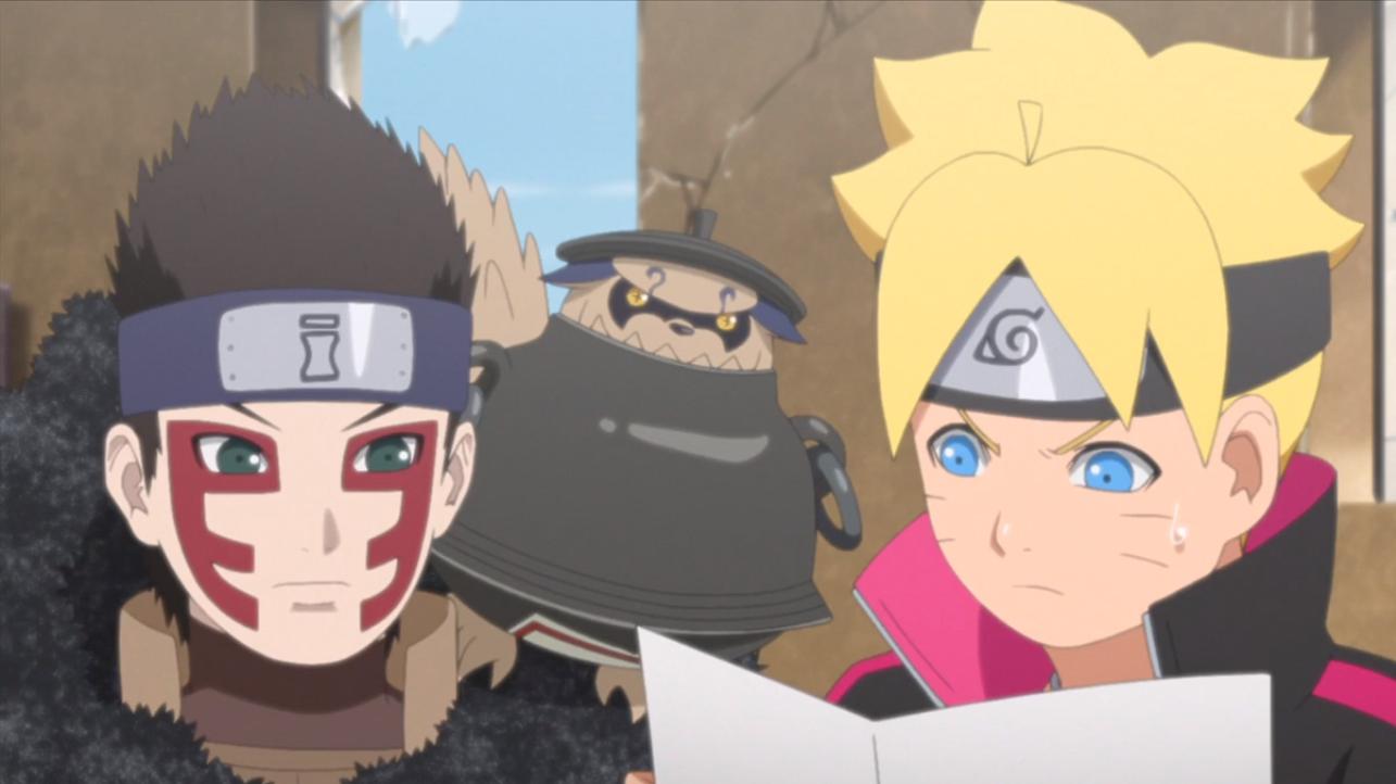 Boruto: Naruto Next Generations Episodio 124