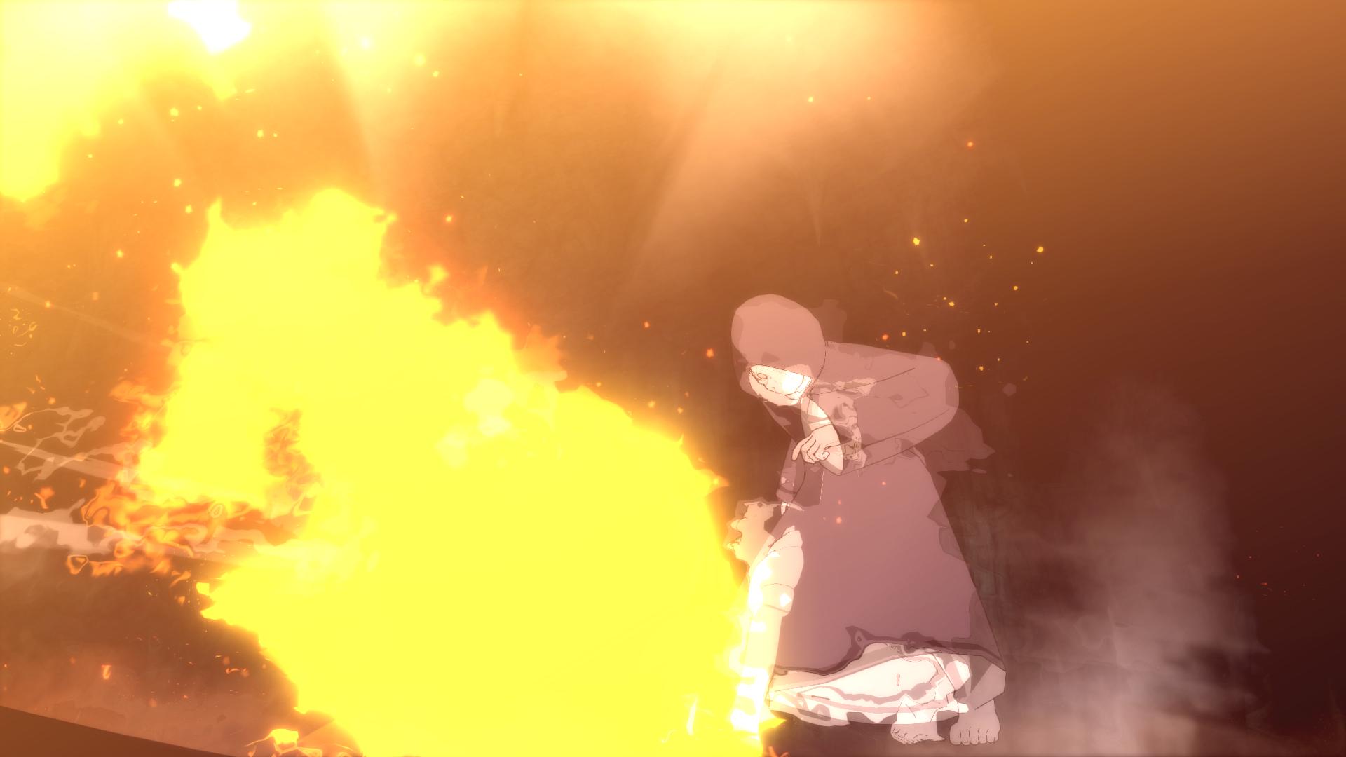 Formação da Shuriken Uchiha: Relâmpago da Primavera