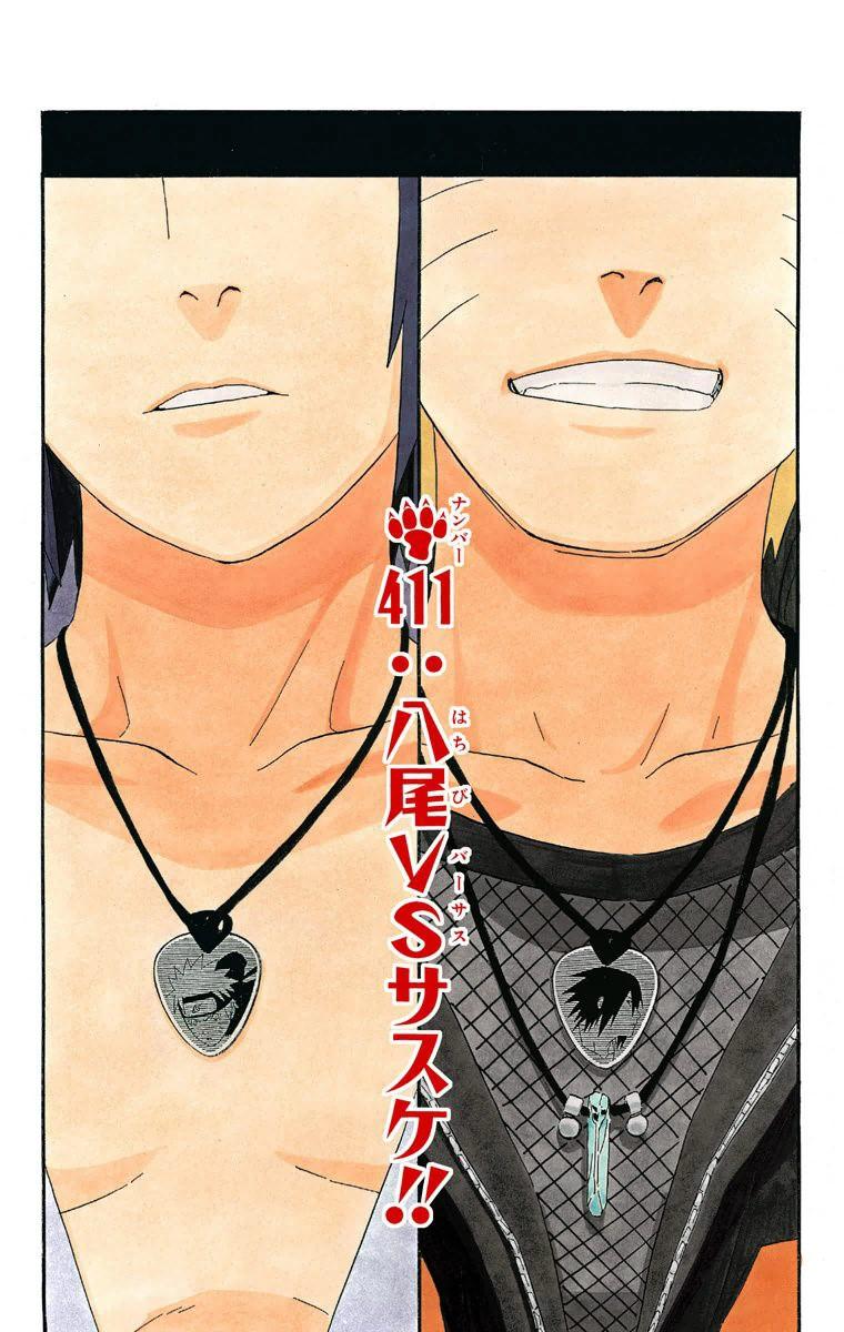 Hachibi contre Sasuke !!