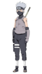 Kakashi - Anbu aos 12 anos (Render)