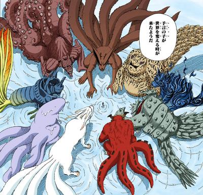 Las Bestias con Cola aparecen dentro de Naruto Manga.png