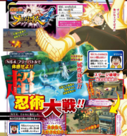 Naruto Storm 4 Destrucción de las Arenas de combate Scan