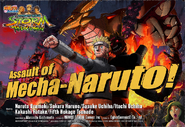 Anuncio de Mecha-Naruto 2