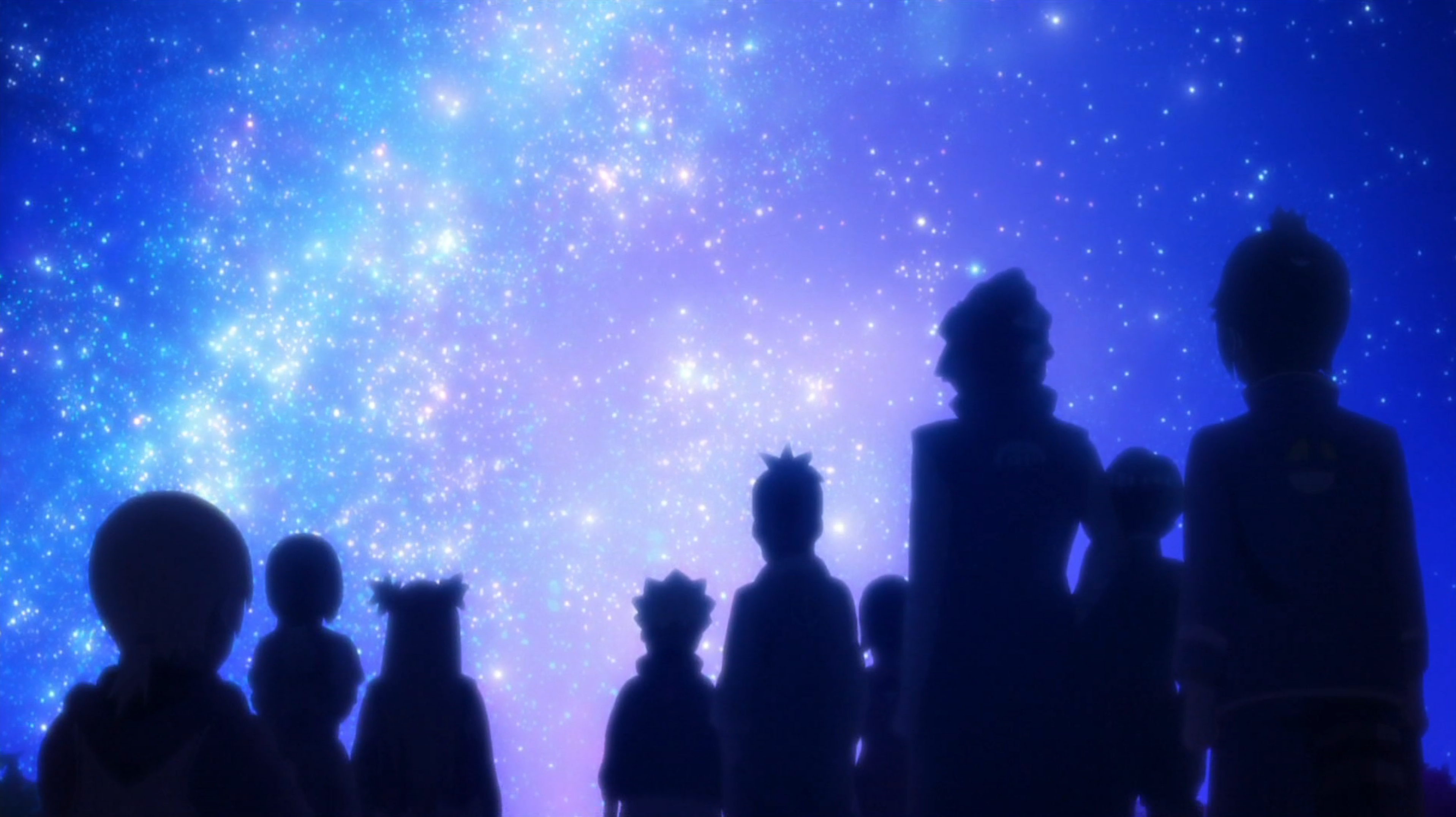 Une nuit parsemée d'étoiles