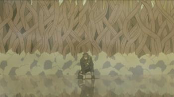 Arte del Legno: Muro del Mondo degli Alberi