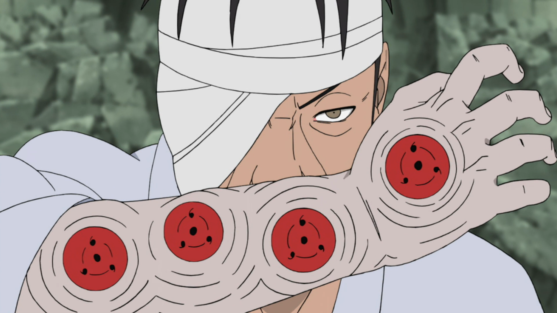Danzō S Right Arm Narutopedia Fandom