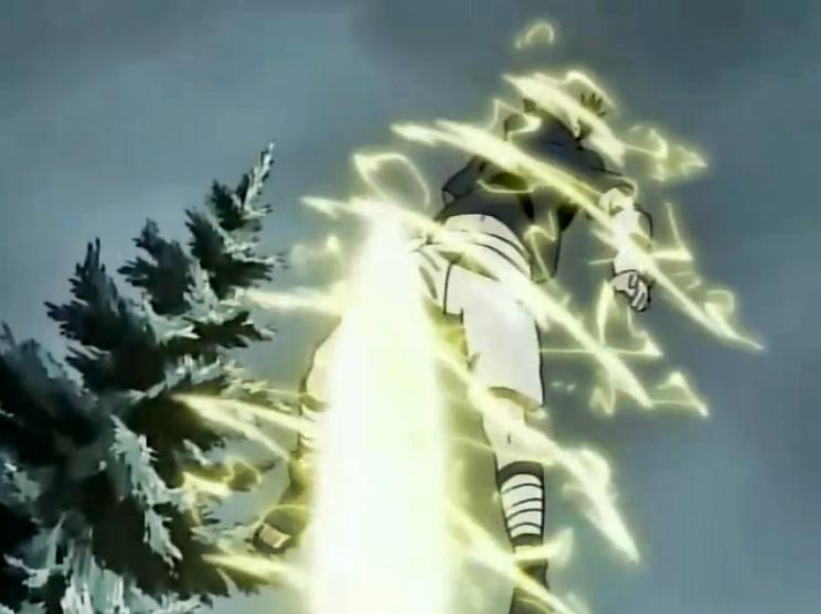 Naruto - Episódio 105: Uma Batalha Feroz do Trovão Retumbante