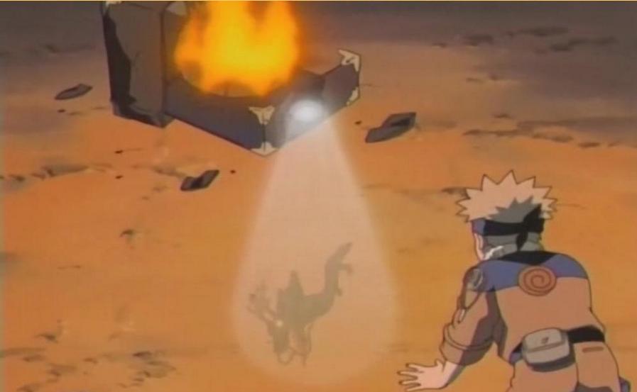 Naruto - Episódio 166: Quando o Tempo Para