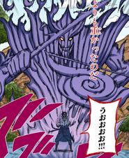 Susanoo Completo Colorido (Sasuke)