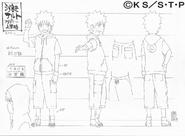 Arte Pierrot - Naruto Academia