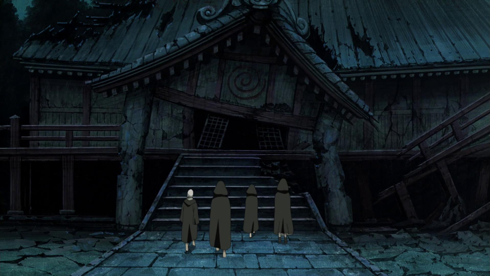 Kuil Penyimpanan Topeng Klan Uzumaki