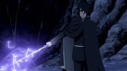 Flash Roxo na Espada (Sasuke - Anime)