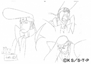 Arte Pierrot - Feições de Kazami 2