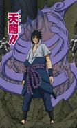 Susanoo Costela Colorido (Sasuke)