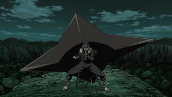 A straight-edged Fūma Shuriken.