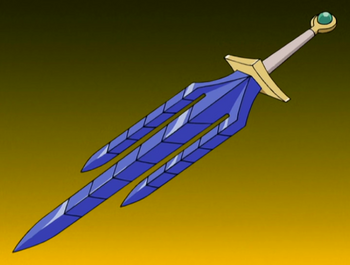 The sword's basis.