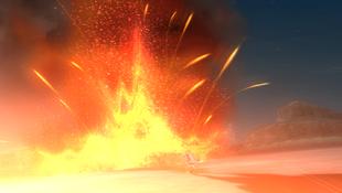 ...e o local se explode.