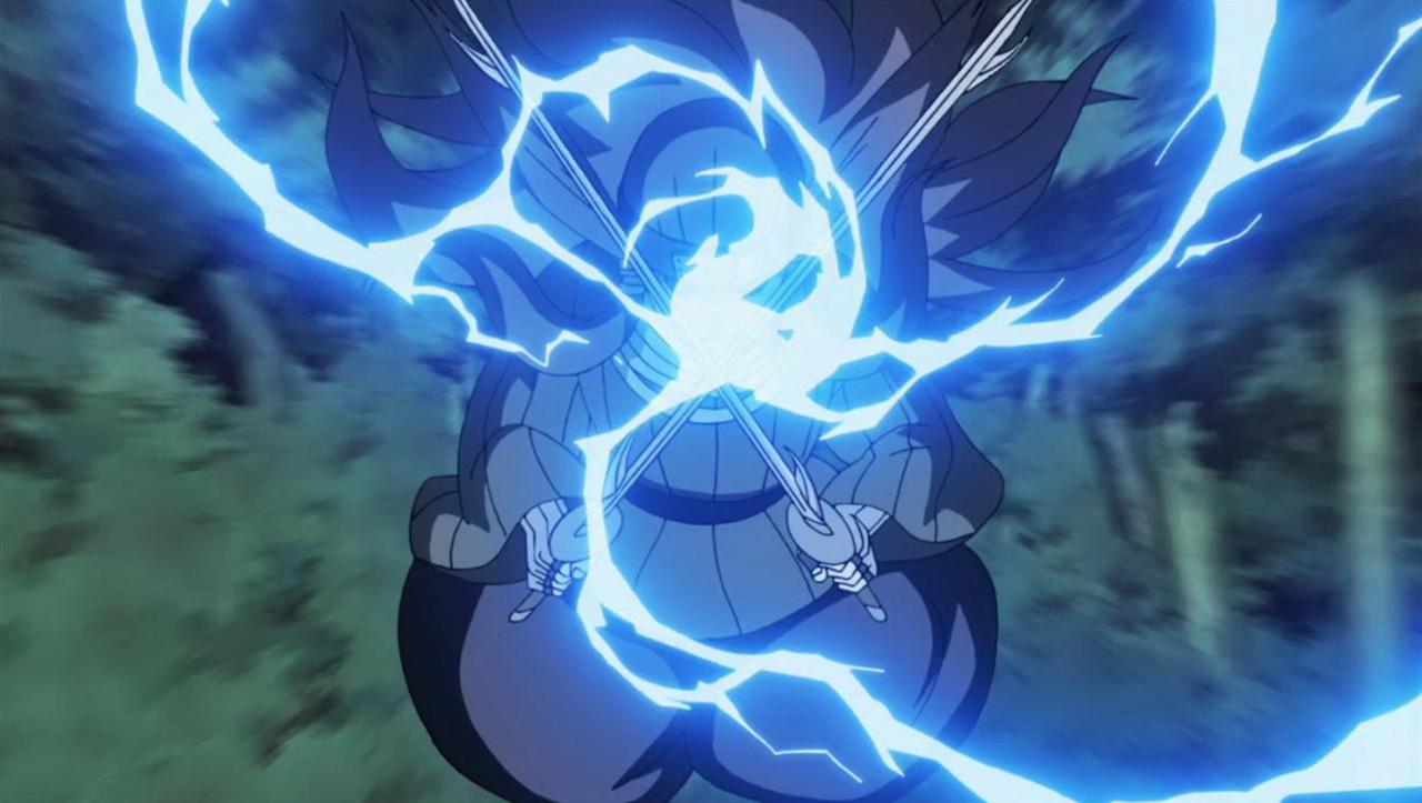 Elemento Rayo: Colmillo Eléctrico