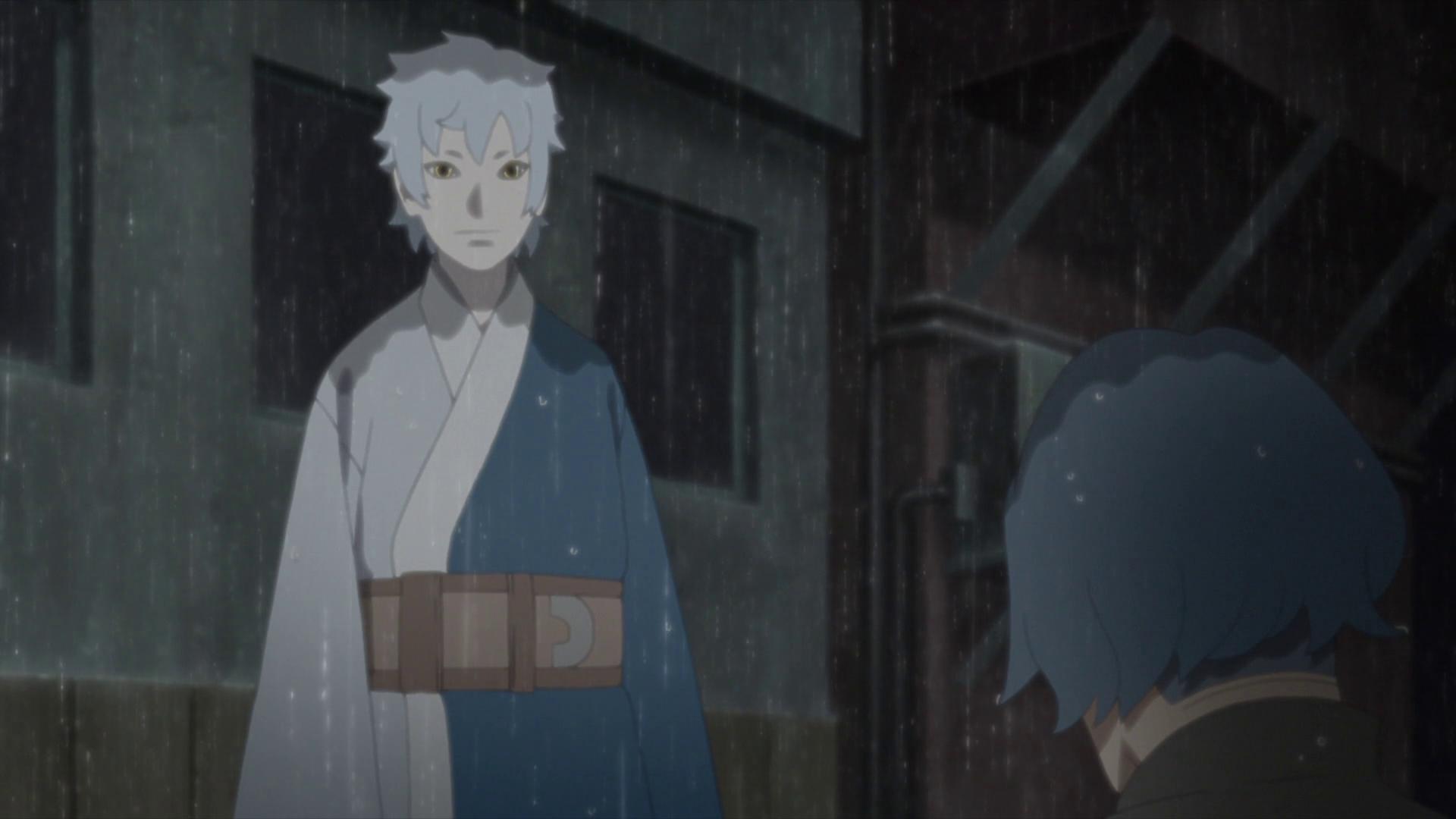 Mitsuki, un jour de pluie